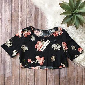 MINKPINK Floral Crop Top